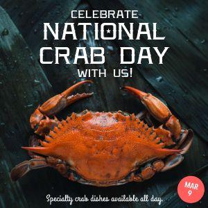 Crab Instagram Post