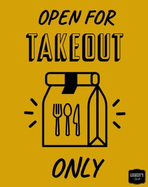 Takeout Only Poster