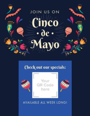 Cinco De Mayo Announcement