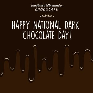 Chocolate Day Instagram Post
