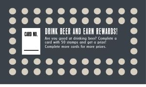 Brewery Punch Card