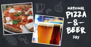 Pizza Beer Facebook Update