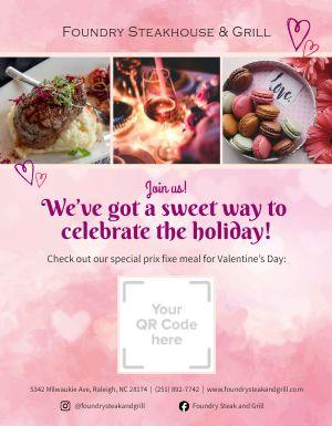 Valentines Day QR Flyer