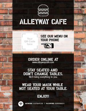 Order Online Flyer