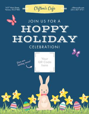 Easter Holiday Flyer