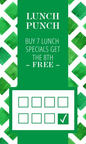 Fresh Green Loyalty Card