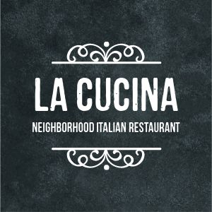 Italian Restaurant Logo Sticker