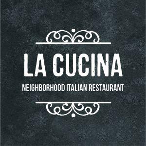 Italian Restaurant Logo Sticker