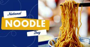 Noodle Facebook Update