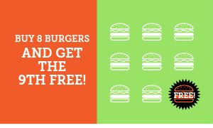 Hamburger Loyalty Card