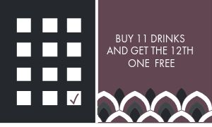 Daily Coffee Loyalty Card