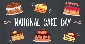National Cake Day FB Post