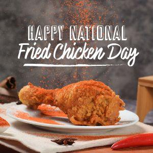 Fried Chicken Instagram Update