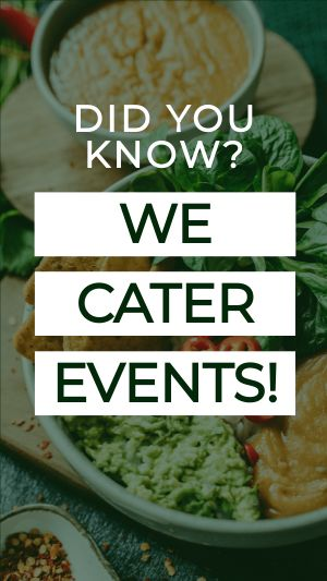 Event Catering Instagram Story