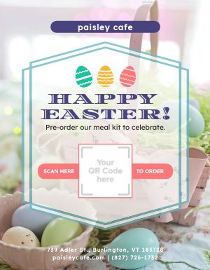 Easter Meal Kit Flyer