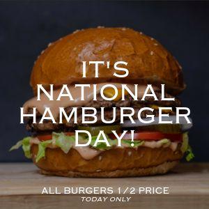 Hamburger Instagram Post
