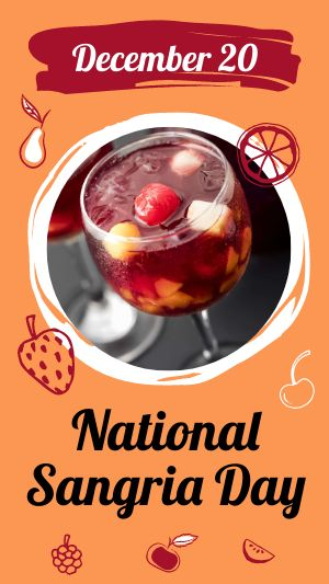 National Sangria Day Facebook Story