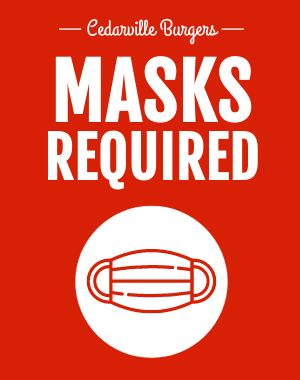 Masks Sandwich Board
