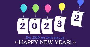 Happy New Year Facebook Update