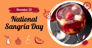 National Sangria Day Facebook Post