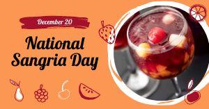National Sangria Day Facebook Post