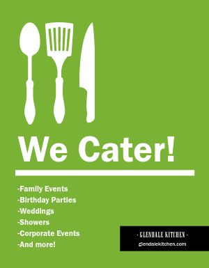 Catering Announcement