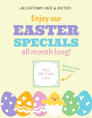 Easter Specials Announcement