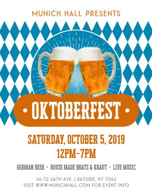 Oktoberfest Mug Flyer