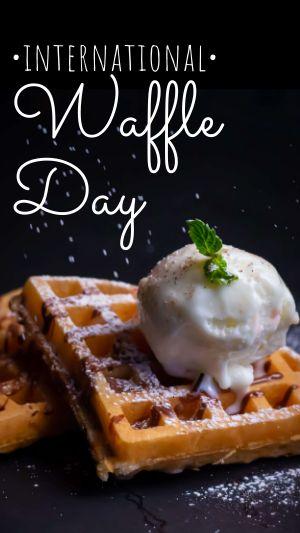Waffle Instagram Story