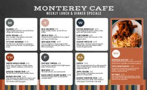 Modern Cafe Daily Specials Menu