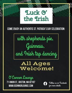 St Patricks Day Ireland Flyer