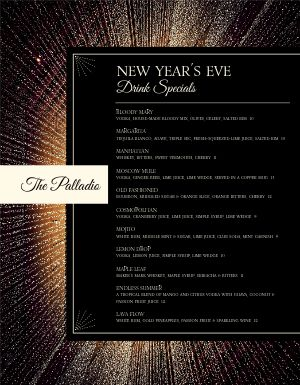 New Years Colorburst Menu
