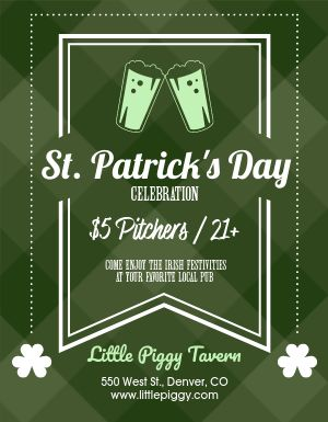 St Patricks Pub Flyer