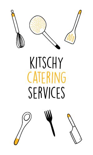 Food Catering Business Card