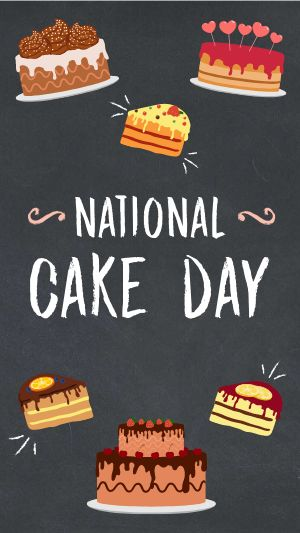 National Cake Day FB Story