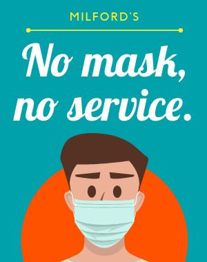 Mask Service Poster