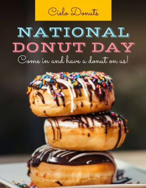 Donut Day Flyer