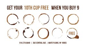 Coffee Club Loyalty Card