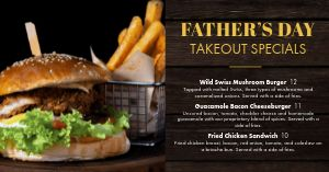 Fathers Day Specials Facebook Post