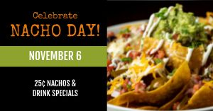 Nacho Day Facebook Post