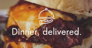 Burger Delivery Facebook Post