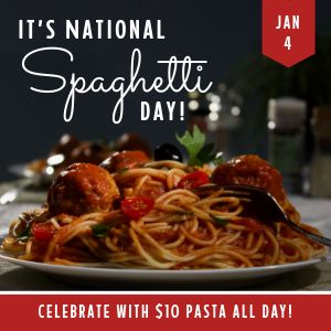 Spaghetti Day Instagram Post