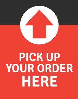 Pickup Order Poster