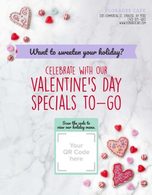 Valentines Day Specials Flyer