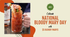 Bloody Mary Day Facebook Update