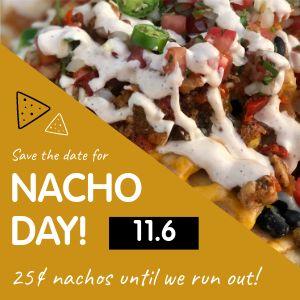 Nacho Day Specials Instagram Post