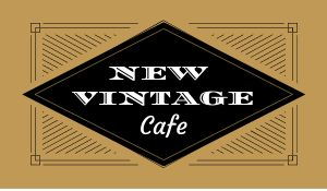 Vintage Cafe Sticker