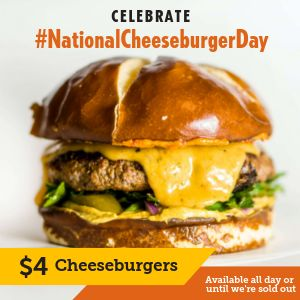 Cheeseburger Instagram Update