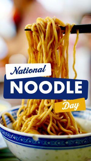 Noodle Instagram Story