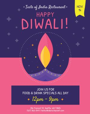 Happy Diwali Poster